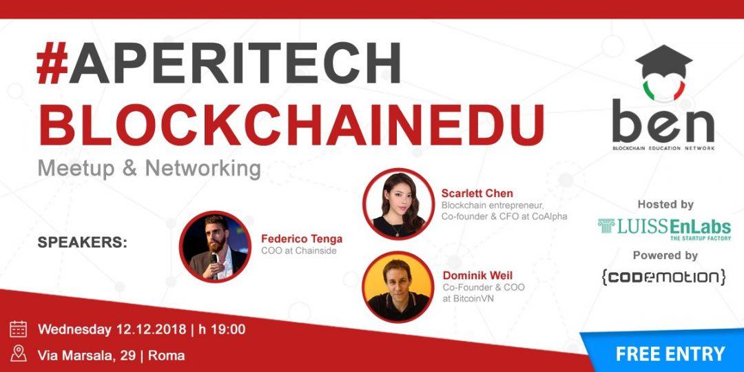Meetup Bitcoin, a Roma con Chainside, BitcoinVN e CoAlpha