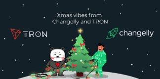 Tron Changelly Merry Cryptmas