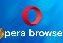 Opera lancia crypto-browser