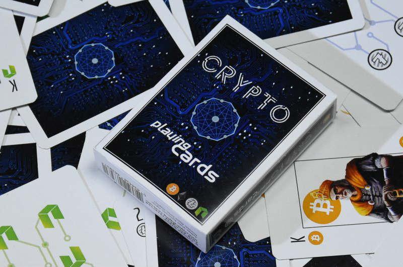 Crypto Poker: in vendita le carte da gioco con le criptovalute