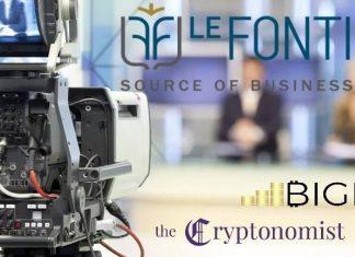 le fonti tv blockchain event