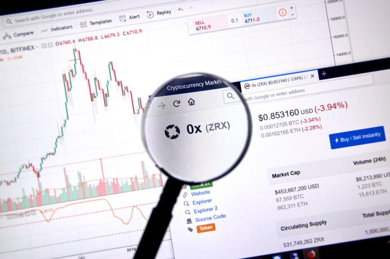 price of cryptocurrency zrx