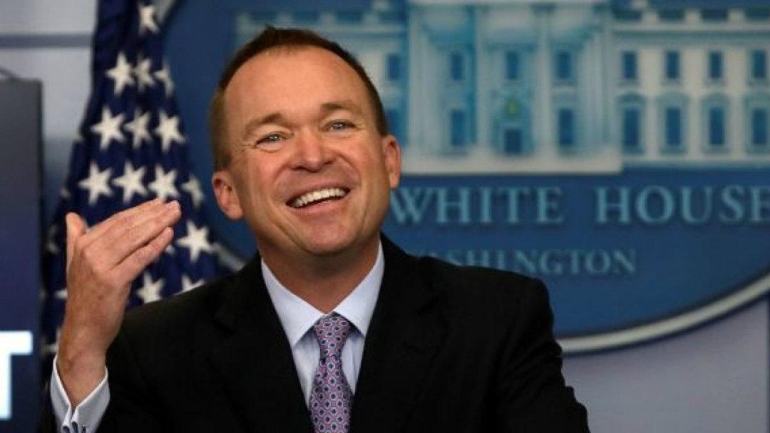 Per Mick Mulvaney, capo dello staff alla Casa Bianca, Bitcoin è una buona cosa
