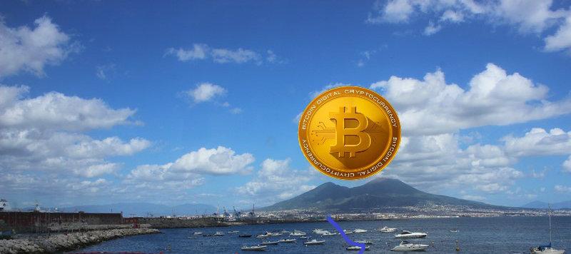 Napoli e Blockchain: crypto accettate in più di 40 negozi