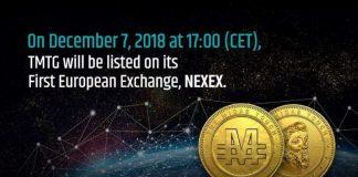 Nexex exchange token TMTG
