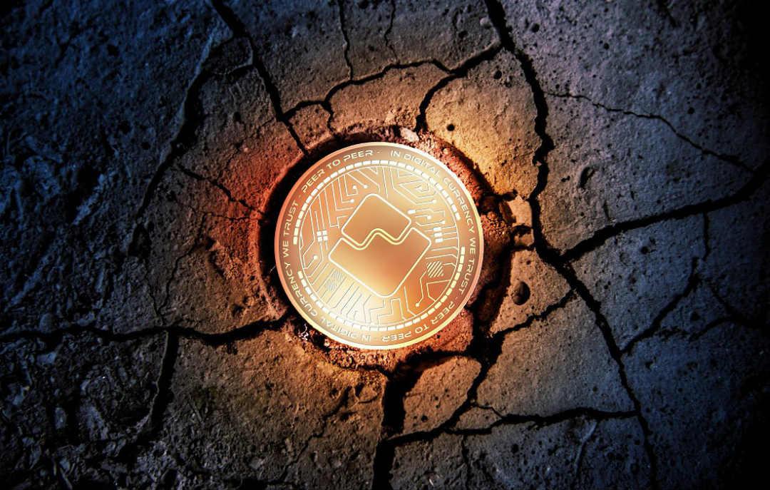 Vola il prezzo della crypto Waves