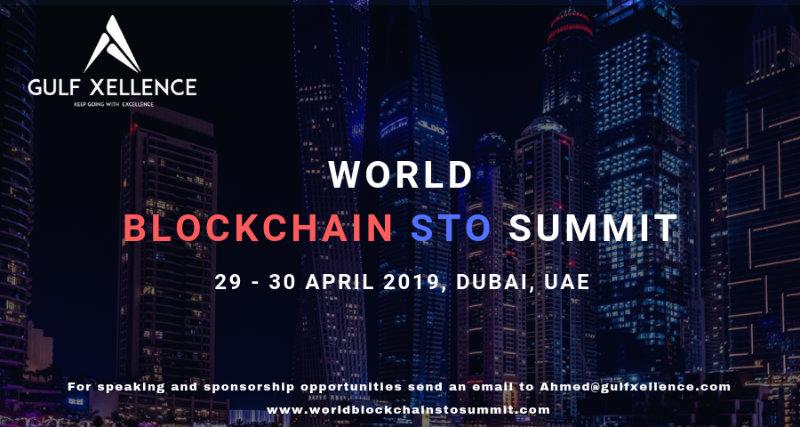 World Blockchain STO Summit: un nuovo evento a Dubai