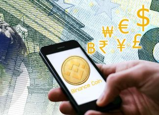 Binance Coin valore