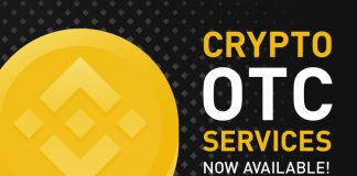 Binance OTC servizi crypto