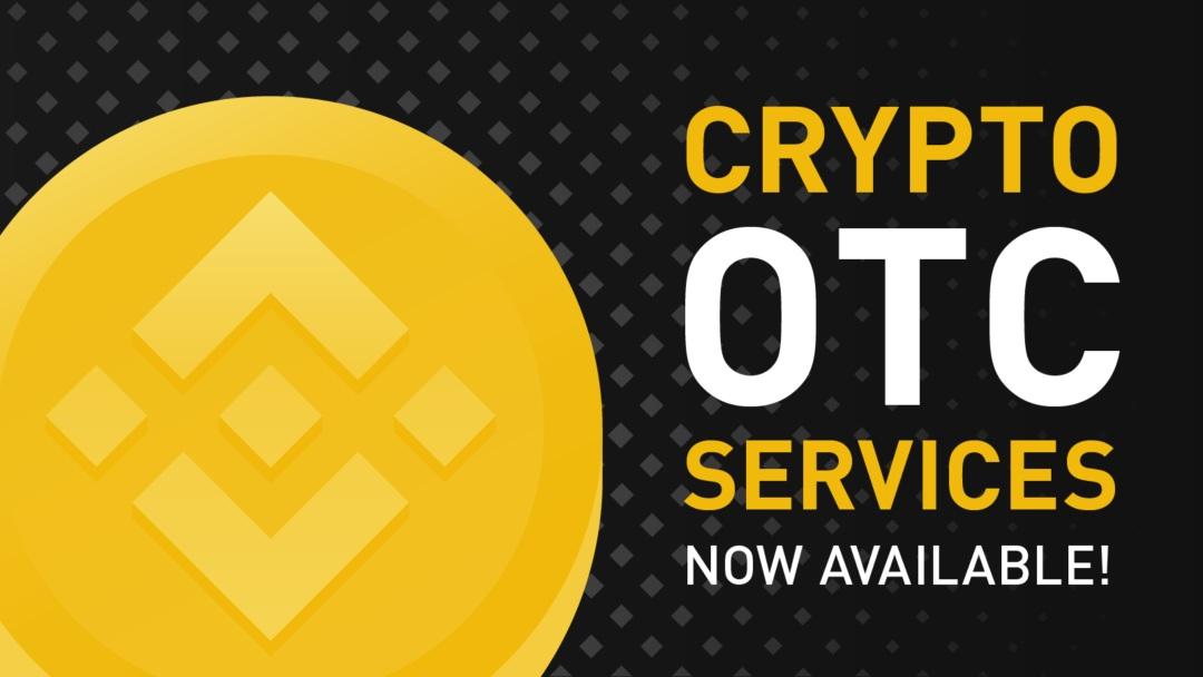 Binance attiva servizi OTC per le crypto