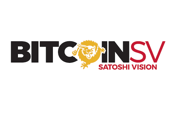 """Bitcoin SV (BSV) logo: """"ecco la rinascita del bitcoin originale"""""""
