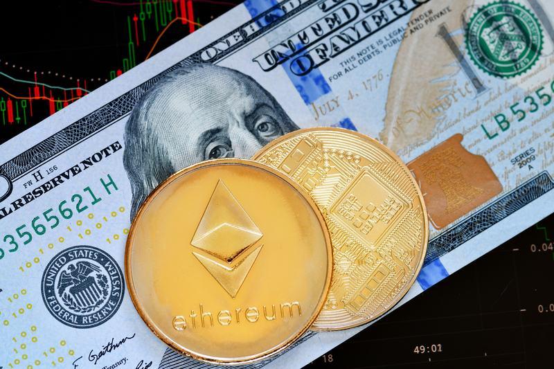 Ethereum regina degli scambi sul dollaro, nonostante il giorno di ribassi