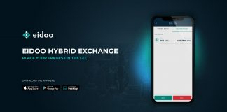 eidoo app hybrid exchange