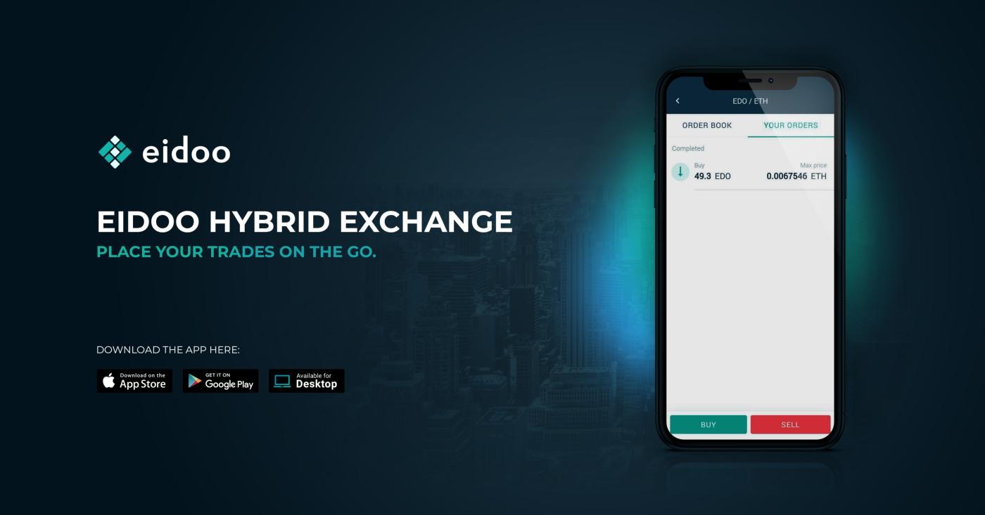 Eidoo app: rilasciato l'Hybrid Exchange. Tether tra i primi token listati