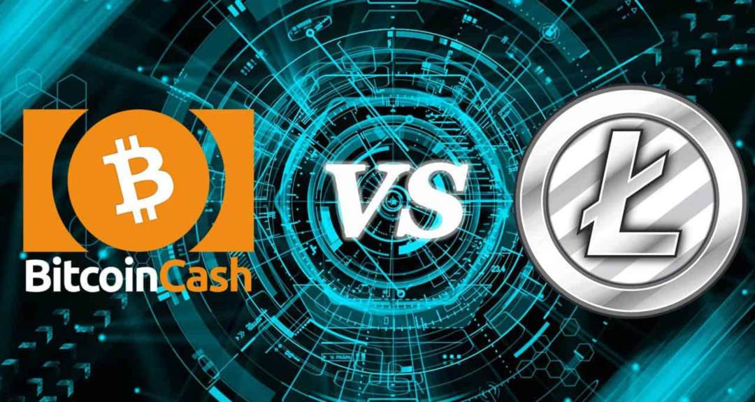 Litecoin vs Bitcoin Cash: crypto a confronto