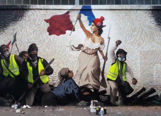 Bitcoin Parigi murales