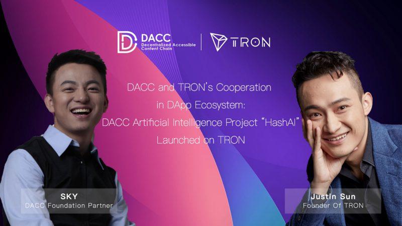 DACC lancia il progetto HashAI: la blockchain di Tron per gli assistenti vocali