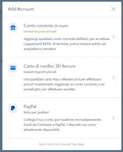 coinbase paypal italya