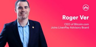 Roger Ver advisor Livenpay