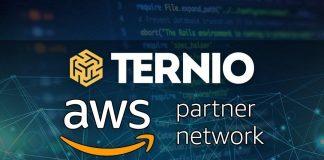 Ternio blockchain partner Amazon AWS