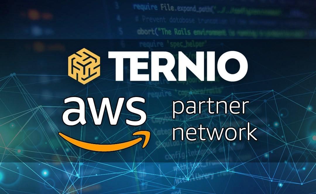 Ternio blockchain nuovo partner di Amazon AWS