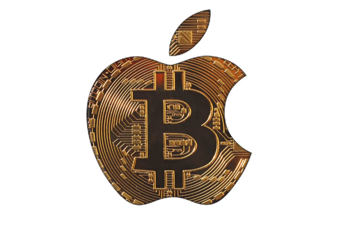 Il simbolo di Bitcoin presente sulla Google keyboard per iOS