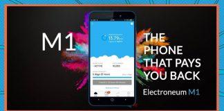 Electroneum lancia mining smartphone
