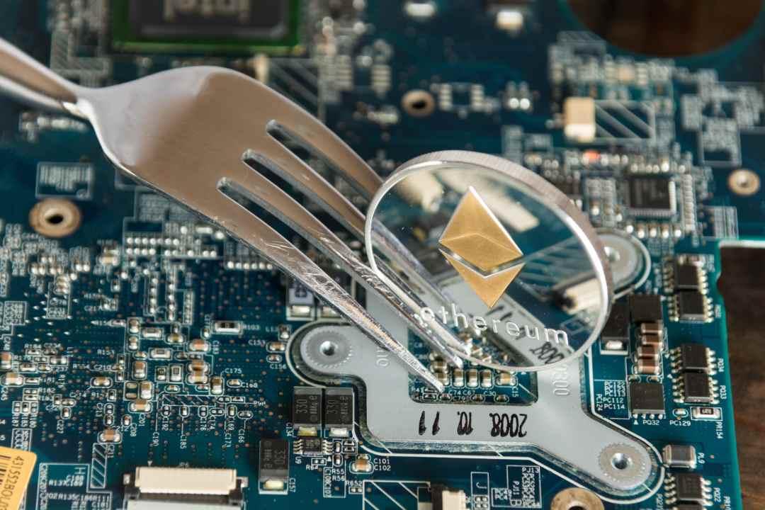 Ethereum hard fork data
