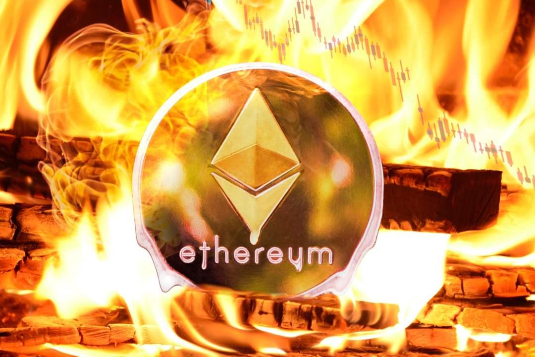 Prezzo Ethereum, in discesa a ridosso dei minimi di gennaio