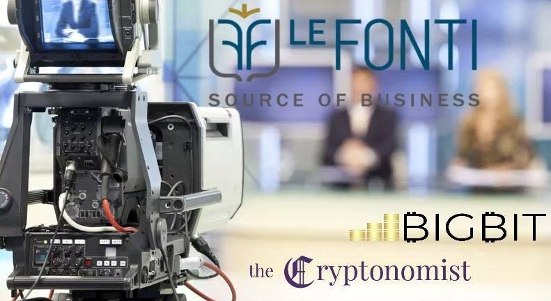 Crypto Focus, in diretta su Le Fonti Tv con Alberto de Luigi
