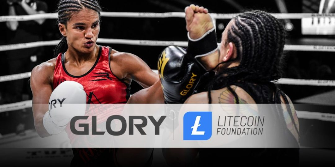 Litecoin Foundation partner di Glory Kickboxing