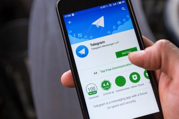 Ton piattaforma Telegram completa al 90%