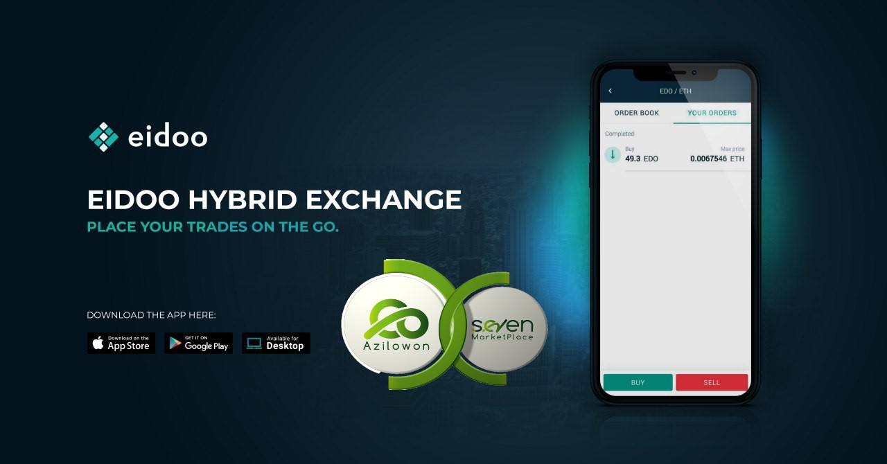 L'exchange di Eidoo lista Azilowon