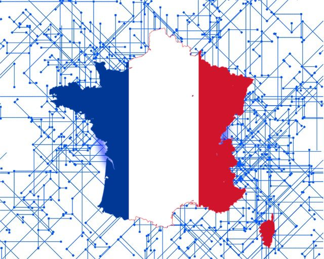 Francia Emmanuel Macron blockchain