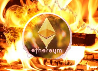 ethereum price dropped today