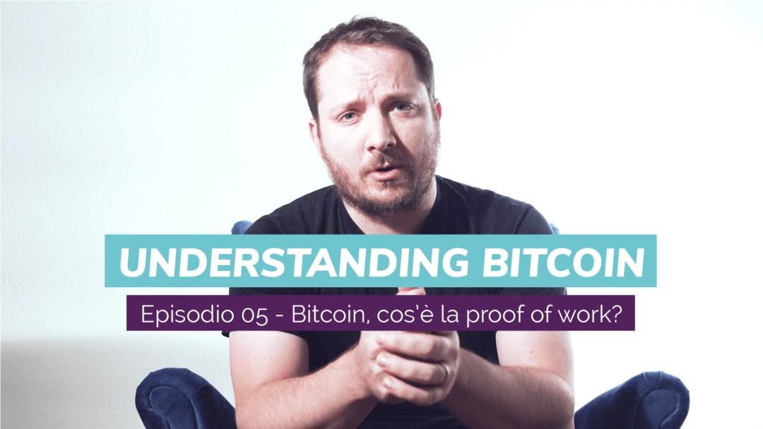 Cos'è la proof of work della blockchain? Un nuovo video con Giacomo Zucco