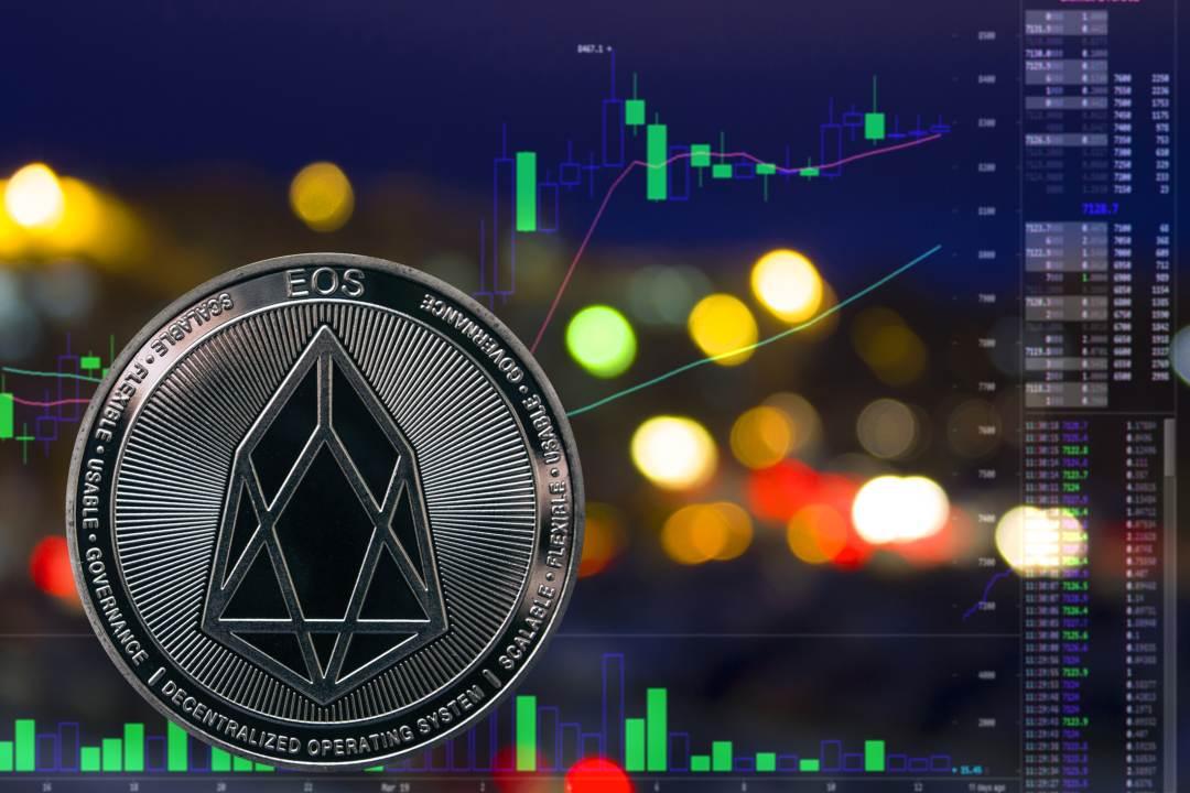 EOS: il market cap della crypto sfiora i 4 miliardi