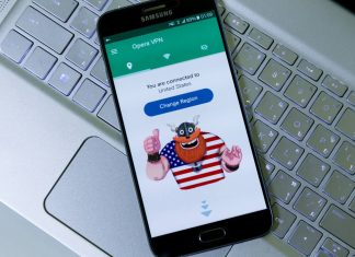 VPN Opera Android 51