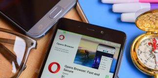 Opera Touch browser iPhone