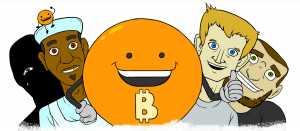 series bitcoin and friends