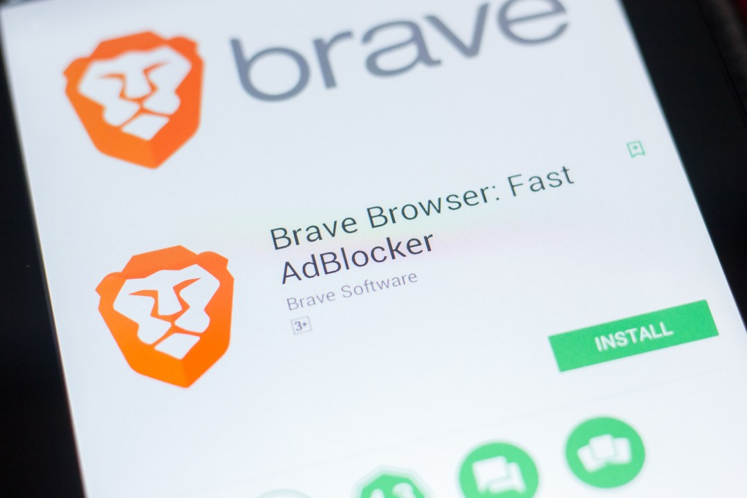 Larry Sanger di Wikipedia usa Brave Browser