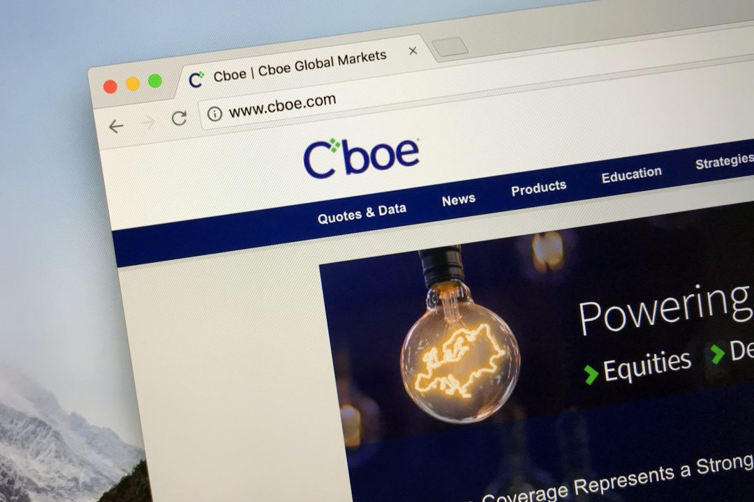 CBOE chiude con i futures su Bitcoin