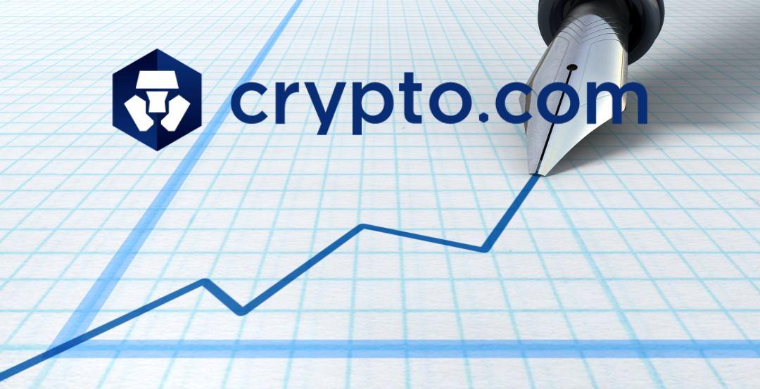 Sale del 450% il prezzo di Crypto.com Chain
