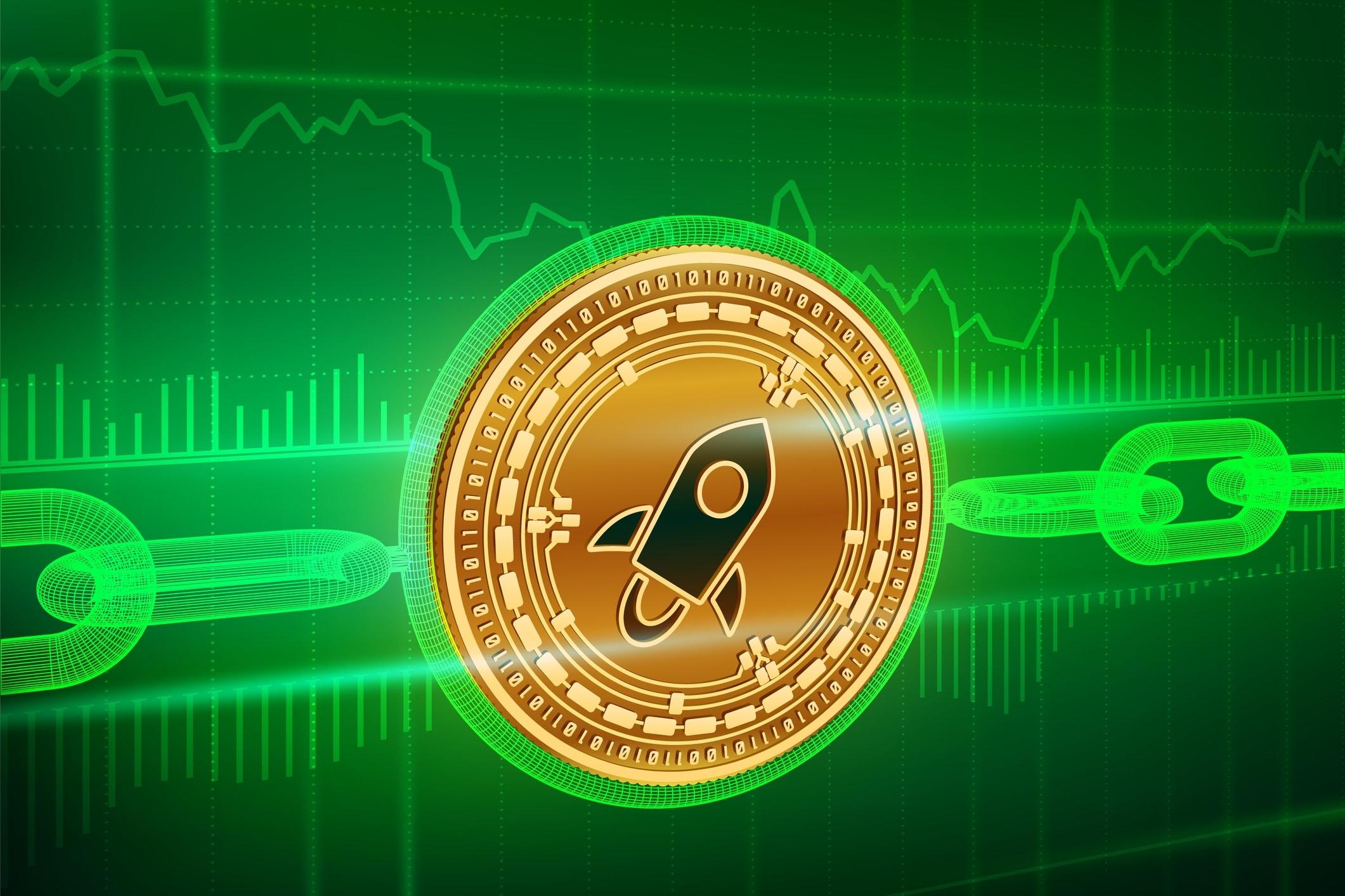Stellar: il prezzo della crypto sale del 7%