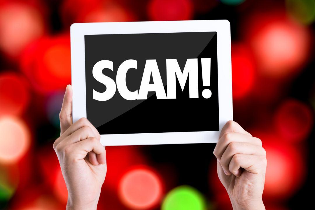 Sito scam diffuso tramite memo delle transazioni EOS