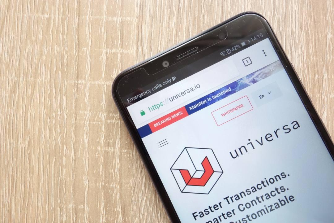 Universa: il progetto blockchain cambia indirizzo del sito internet