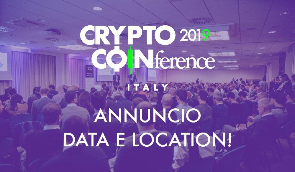 A Milano arriva la Crypto Coinference 2019