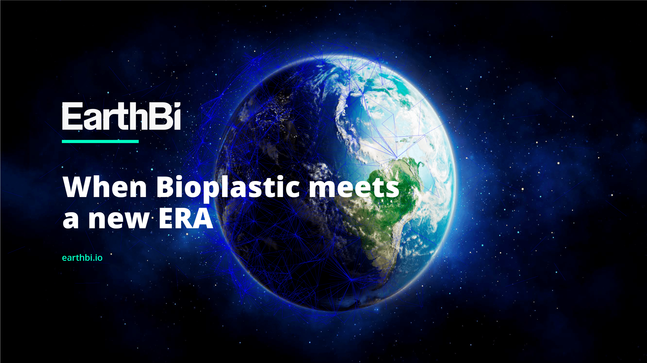 earthbi bioplastica blockchain