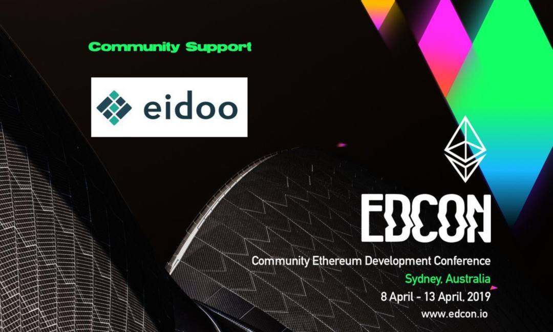 Eidoo e Provable all'evento EDCON 2019