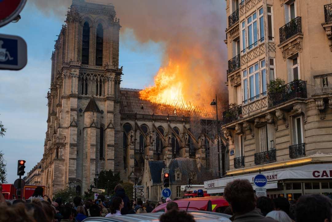 donazioni crypto Notre Dame